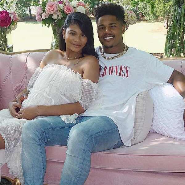 Chanel Iman, Sterling Shepard, Instagram